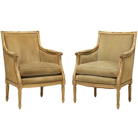 Bergere Chairs For Sale by Vintage Louis Xvi Style Bergere Chairs For Sale At