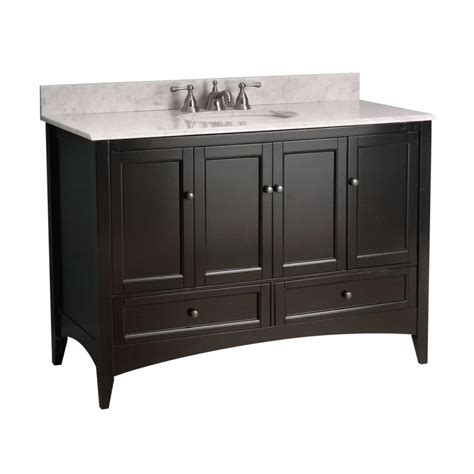 foremost bathroom vanity foremost beca4821d espresso berkshire bathroom vanity 48