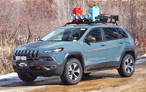 Jeep Trailhawk Accessories 2014 Trailhawk Properly Outfitted By Rocky Road