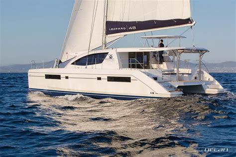 sailing catamaran ocean crossing atlantic crossing with luxury sailing catamaran leopard 48