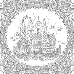 free coloring books johanna basford newest coloring book and the inky