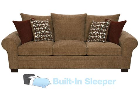resort chenille sleeper sofa