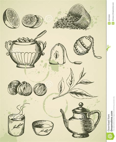 Vintage Tea Royalty Free Stock Photo   Image: 22016665