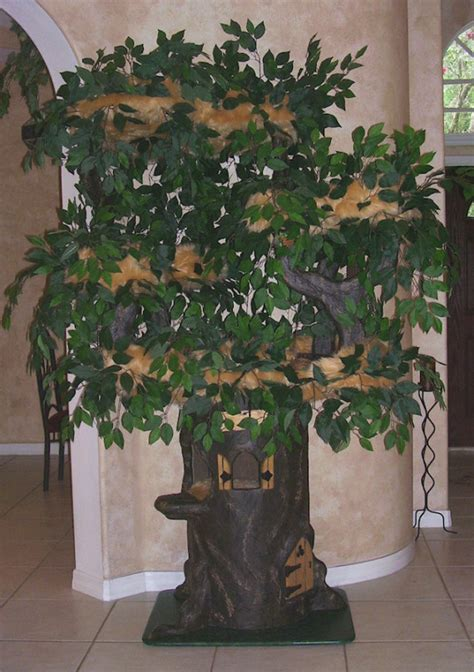 Cat trees that look like trees hiddenhollowcattrees