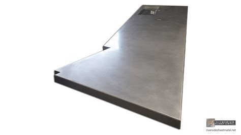 Steel Bar Top Stainless Steel Bar Top With Tap Tray