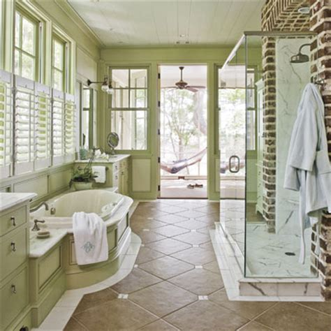 southern living bathrooms master bathroom decorating design decorate with trim