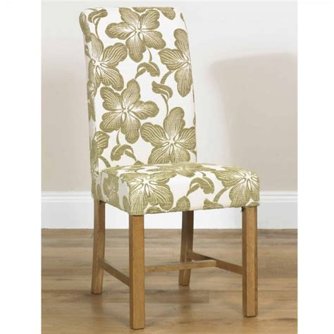 marco floral dining chair fabric dining chairs benches