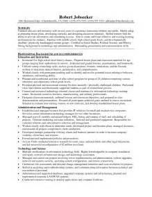 Resume Sle Of A by Primary School Teachers Resume Sales Lewesmr