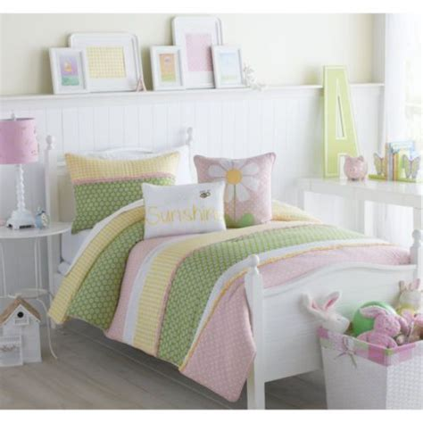 pink and yellow comforter sets new full size 3 piece comforter set lazy daisy green