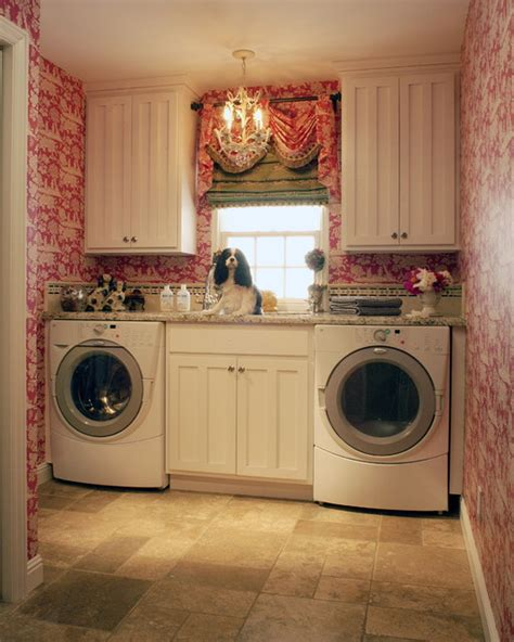 Landry Home Decorating by Toile Laundry Room