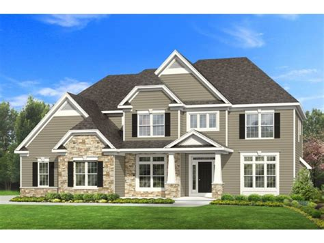 Craftsman 2 Story House Plans | long lots blueprints 3 bedroom 1 story 2 story 4 bedroom