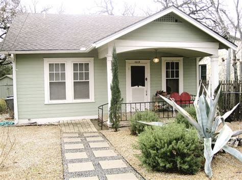 mint green house like this light mint green with white trim exterior house