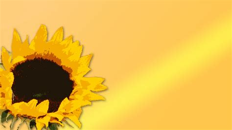 Sunflower Powerpoint Template sun flower presentation ppt backgrounds sun flower