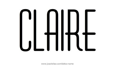 boat names that start with c claire name tattoo designs