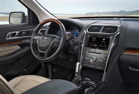 2018 Ford Explorer Interior by 2018 Ford Explorer Sport Trac Reviews Specs Interior