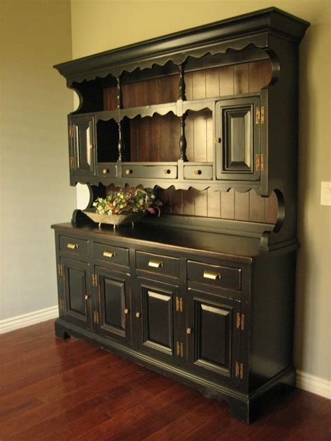 Craigslist Dining Room Hutch Rustic Black Farmhouse Hutch Home Decor
