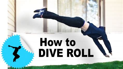 how to dive how to dive roll parkour tutorial c tapp