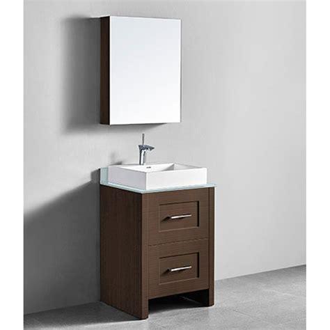 retro bathroom vanity madeli retro 24 quot bathroom vanity for glass counter and