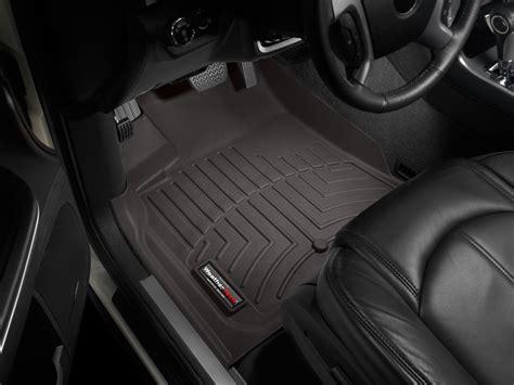 weathertech floor mats floorliner for buick enclave w