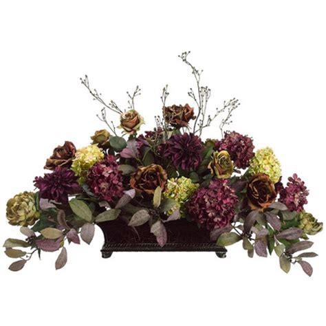 hydrangea dahlia and peony silk flower design floral