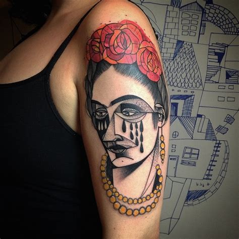 picasso tattoo artist bold eye catching tattoos that look like they are
