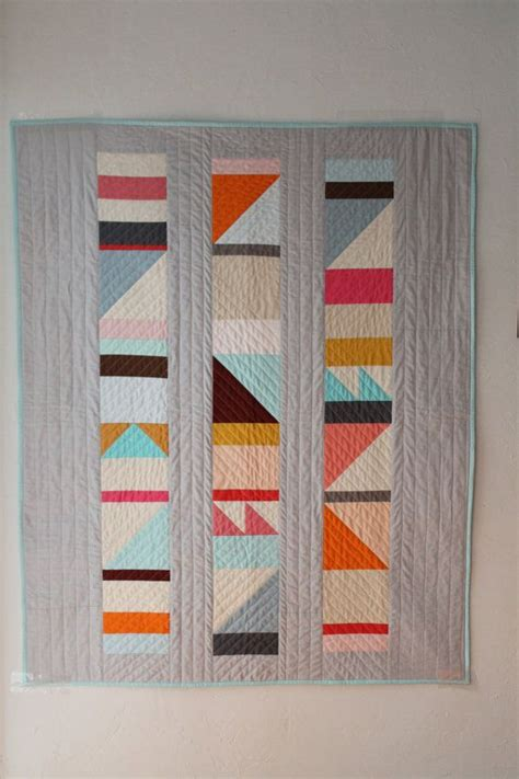 Geometric Patchwork Patterns - 17 best ideas about geometric quilt on modern