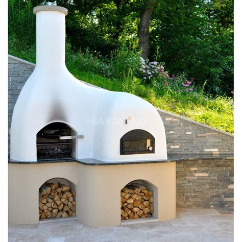 ofen selber bauen grill pizzaofen kombination selbst bauen