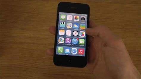 a iphone 4 iphone 4 ios 7 1 beta 5 review