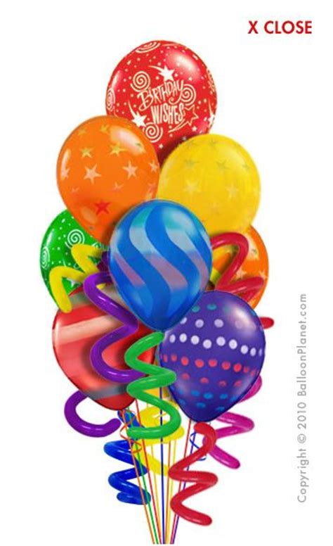 balloon birthday delivery balloon bouquets twisty birthday balloon bouquet 10 balloons balloon delivery by