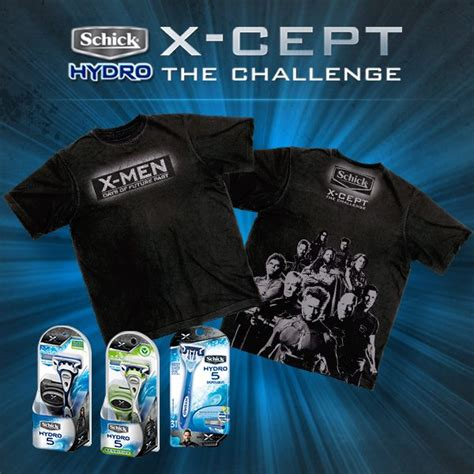 T Shirt X Days Of Future Past us giveaway days of future past schick razor and