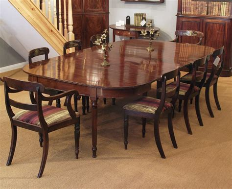 Antique Mahogany Dining Table by Antique Mahogany Dining Table Wide Dining Table D End