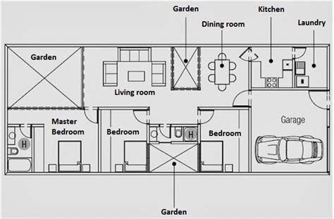 land layout crossword 29 best planos casas 1 piso images on pinterest floors