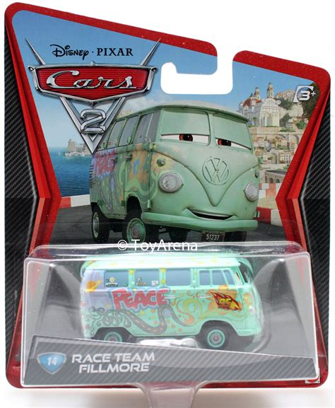 The Cars 2 Fillmore Race Team disney pixar cars 2 14 fillmore race team toyarena