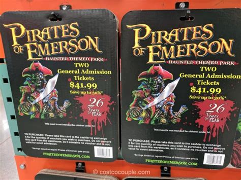 Gift Cards Sold At Costco - pirates of emerson gift card