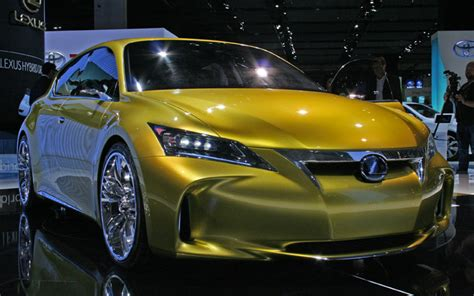 lexus lf ch concept photos and details from the 2009