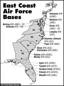 map of air bases in