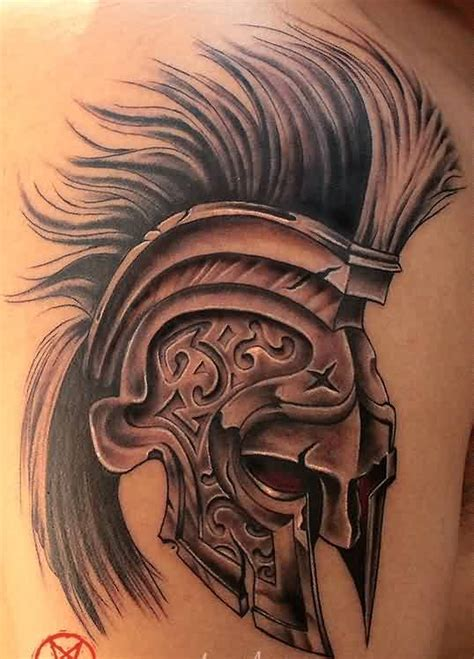 helmet tattoos designs and ideas page 62