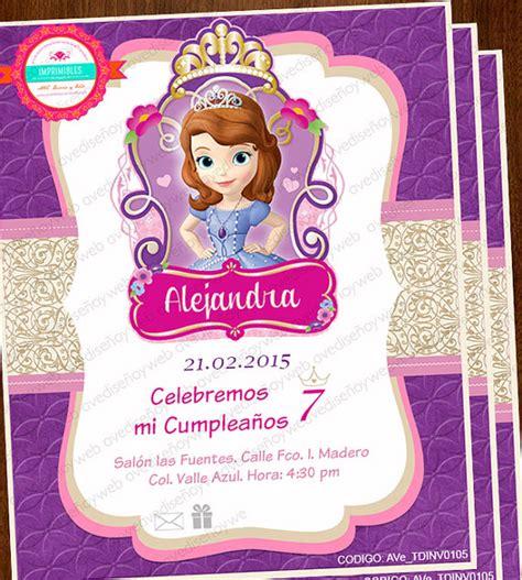 invitaci n de bautizo de princesa para imprimir invitaciones princesa sofia invitaciones editables