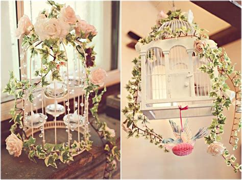 diy decorations vintage 37 unique birdcage centerpieces for weddings