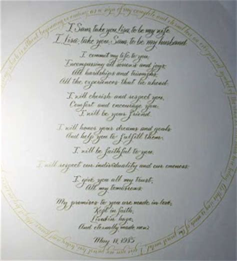 Bible Verses Renewing Wedding Vows by Traditional Wedding Vows Quotes Quotesgram