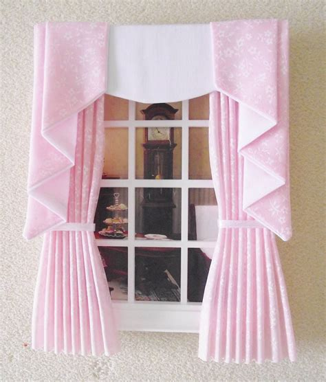 making dolls house curtains dolls house curtains 28 images doll house gingham