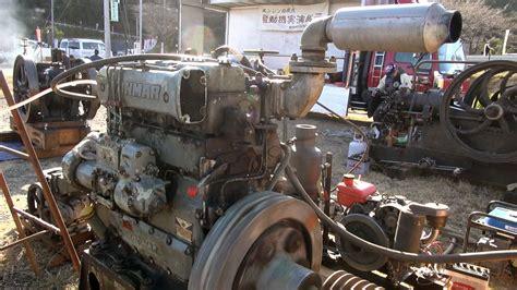 old boat engines old engines in japan 1970s yanmar diesel type 3kl 62hp