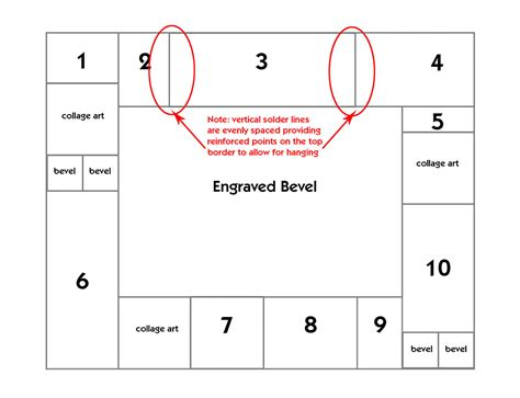 pattern design consideration free patchwork border engraved bevel project guide