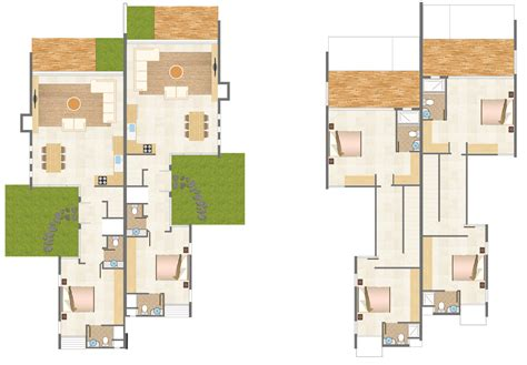 31 awesome villa floor plan 3d images plan pinterest carob beach luxury villas semi detached north cyprus