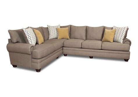 pewter sectional essence pewter 2pc sectional louisville overstock warehouse