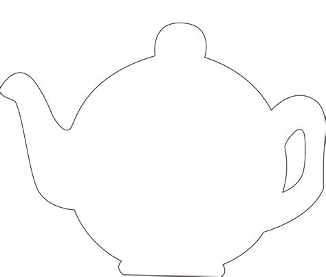 Teapot S Day Card Printable Template by 29 Images Of Paper Teapots Template Free Elecitem