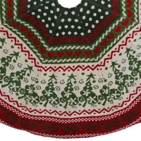 48 quot chenille knit christmas tree skirt i want it