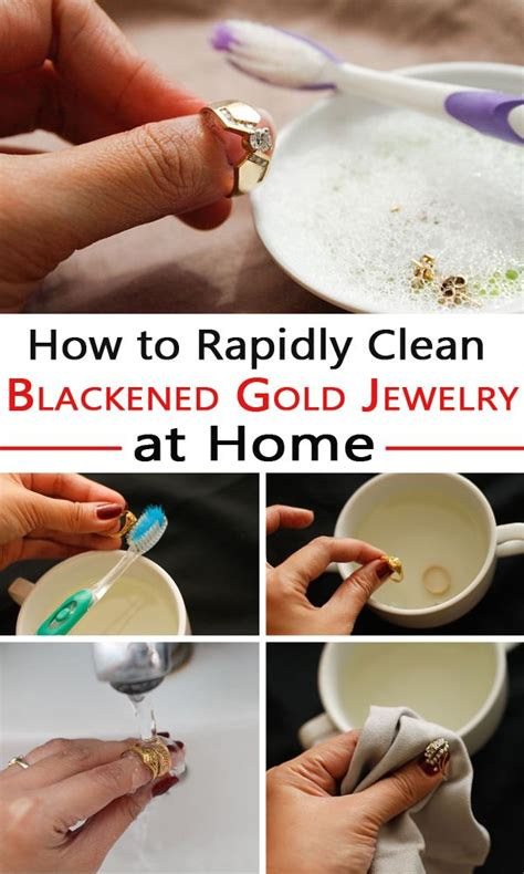 how to make jewelry cleaner at home 25 unique clean gold jewelry ideas on how to