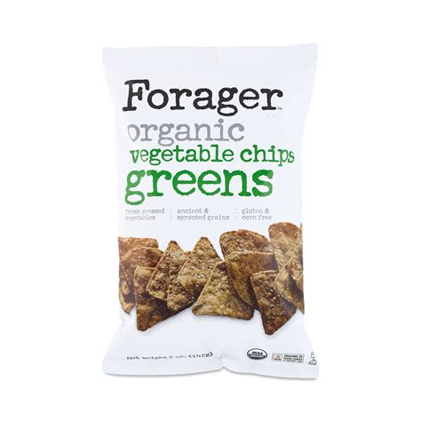organic vegetable chips greens by forager thrive market