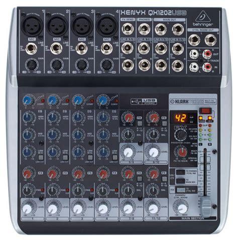 Behringer Xenyx Qx 1202 Usb Behringer Xenyx Qx1202usb Mixer Getinthemix
